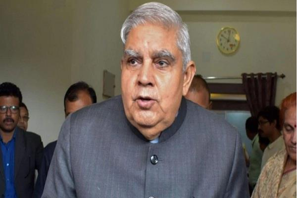 arjun arrows had nuclear power west bengal governor jagdeep dhankhar