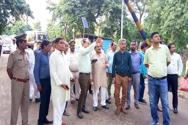 horticulture minister dara singh chauhan inaugurated two lions fence