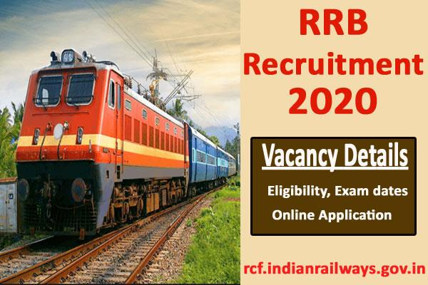 rrb recruitment 2020 for 10th pass