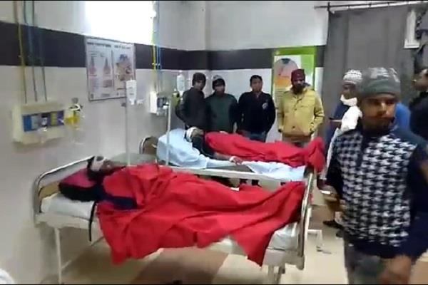 eye witnesses said on the kannauj bus accident
