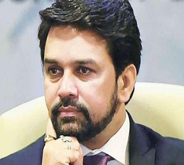 what is your comment on the alleged controversial slogan of anurag thakur
