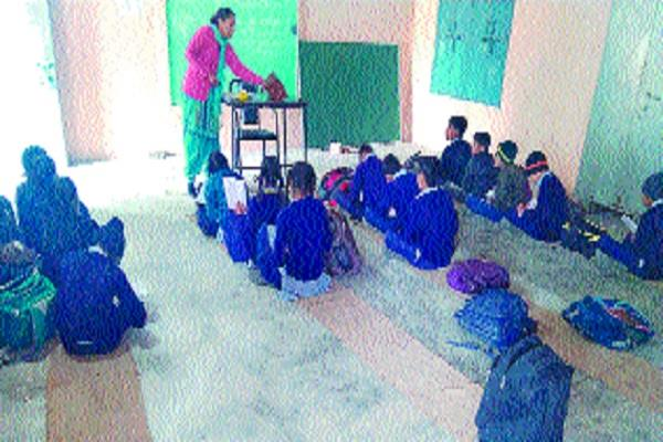 government schools claim failed even the number of classrooms is not available