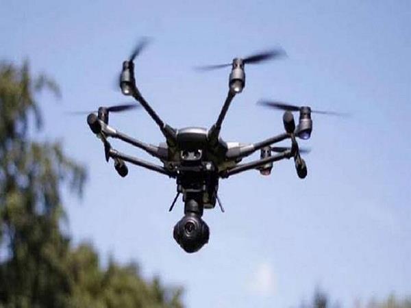 pakistani drone again seen in punjab bsf firing
