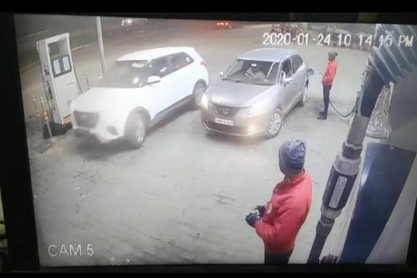 robbed new car of businessman