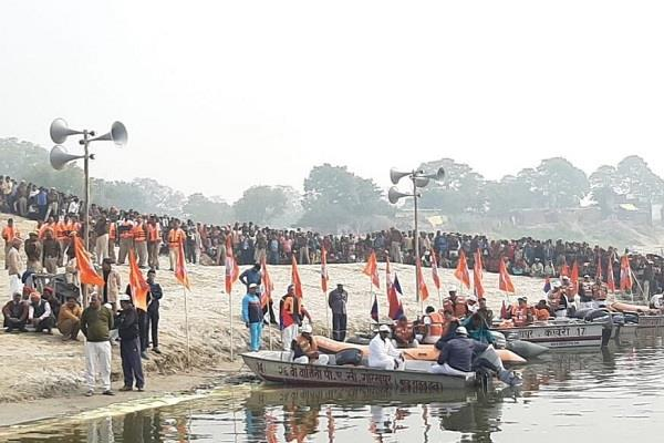 bjp s ganga yatra greeted politics supporters said this is not a plan
