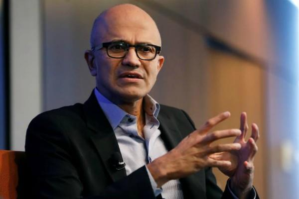 microsoft ceo satya nadella gave a statement on caa
