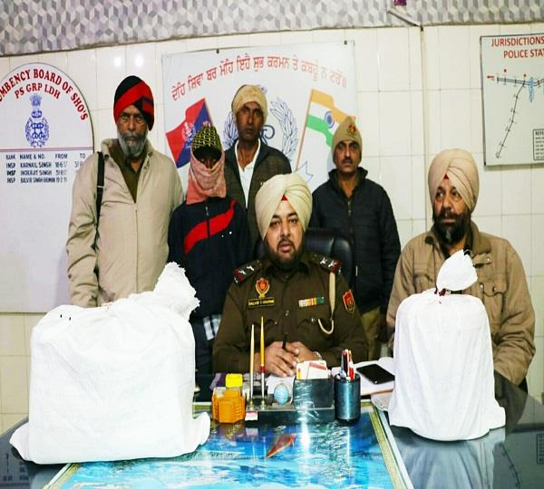 youth arrested with 2 kg of opium