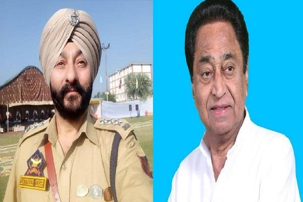 cm speaks big about dsp davinder singh