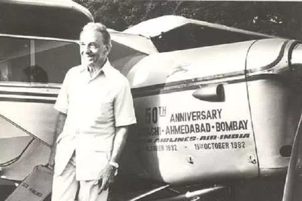 88 years ago tata started air india