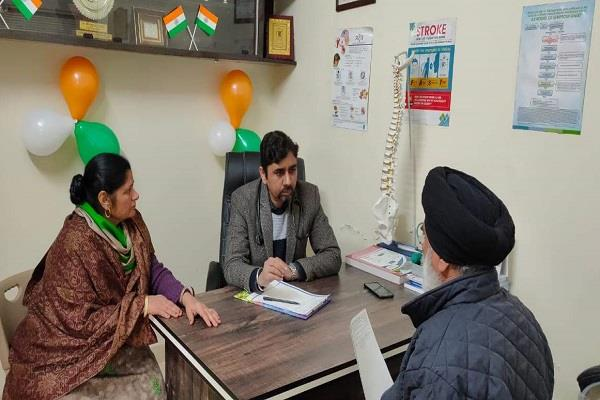 150 patients free checkup at neurospin and general clinic