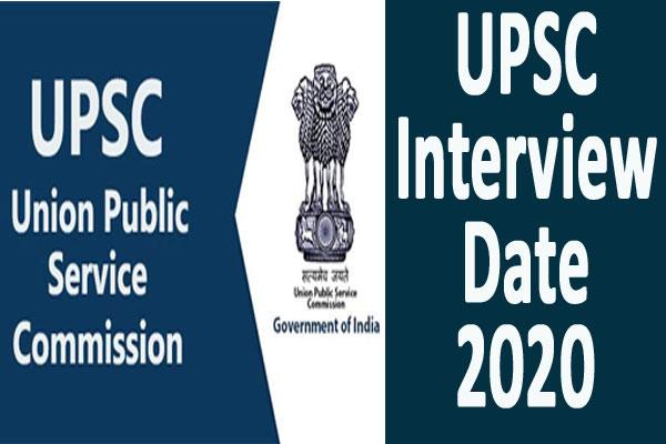 upsc interview date released 2304 candidates will be included check list
