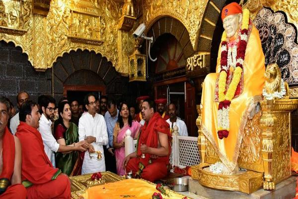 shirdi bandh called off today uddhav thackeray will meet on this matter