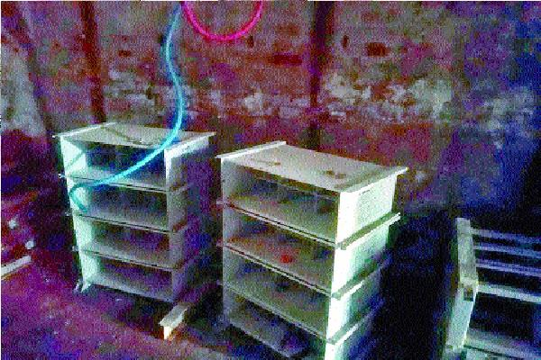 bsnl lakhs of batteries stolen from the exchange