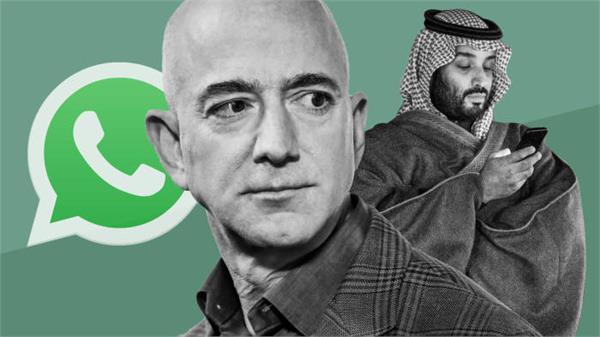 amazon boss jeff bezos s phone  hacked by saudi crown prince