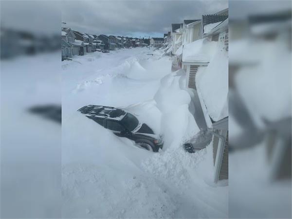 bomb cyclone to hammer newfoundland in canada