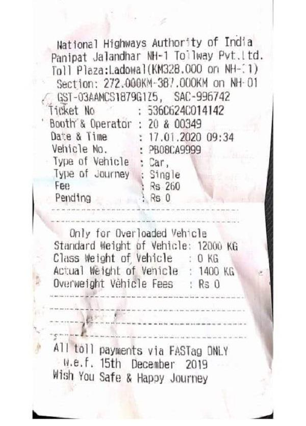 double fees on one way being looted by misleading people at toll plaza