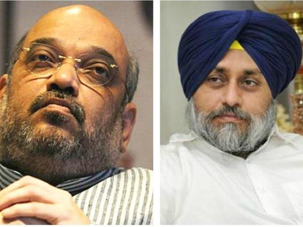 amit shah is not giving time to meet sukhbir badal