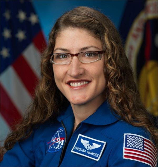 अंतरिक्ष मे रहकर क्रिस्टीना ने बनाए एक नहीं दो नए रिकॉर्ड