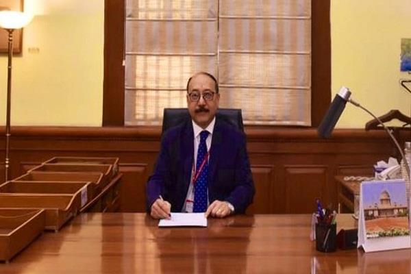 harsh vardhan shringla becomes india 33rd foreign secretary takes charge