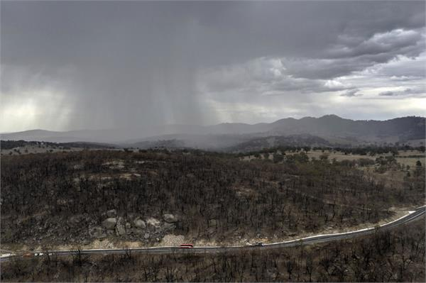australia bushfires rain brings some relief