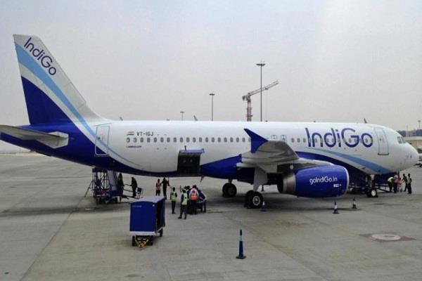 full emergency on pune jaipur indigo flight