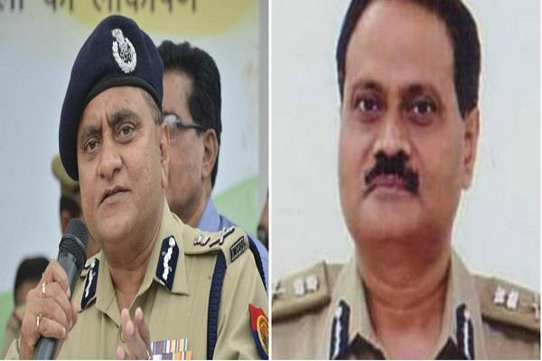 up dgp op singh s term ends hitesh chandra awasthi becomes caretaker dgp