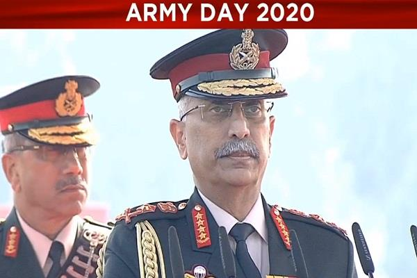 army chief addresses on 72nd army day