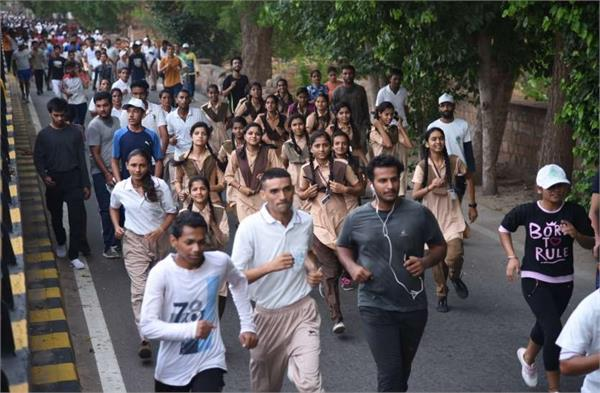 haryana to run in  run for youth  on national youth day