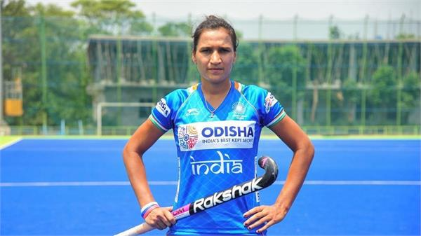 captain rani rampal named in world games athlete of the year