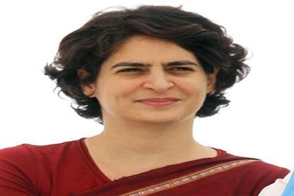 priyanka gandhi will soon visit madhya pradesh