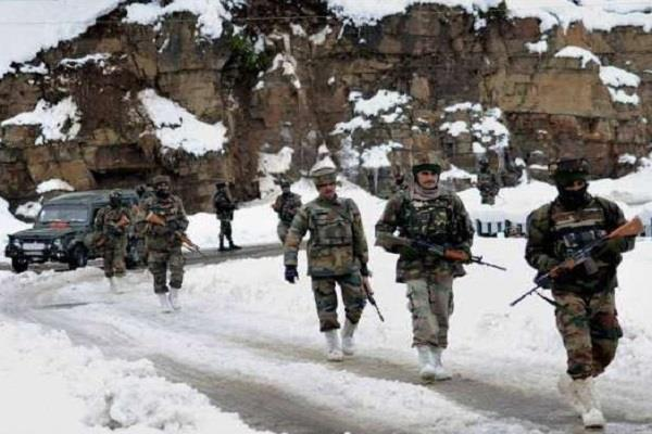 soldier killed three injured in avalanche at army post in kargil