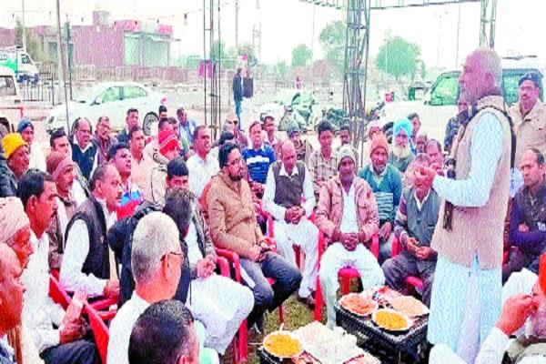 mla walks foot march in support of caa informs villagers about the bill