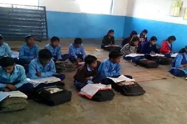 children peons work govt school deprive basic facilities problem very serious