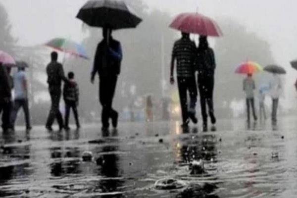 heavy rainfall in haryana tomorrow chances of hail