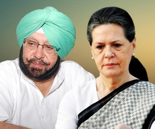captain reached delhi darbar will discuss these issues with sonia gandhi