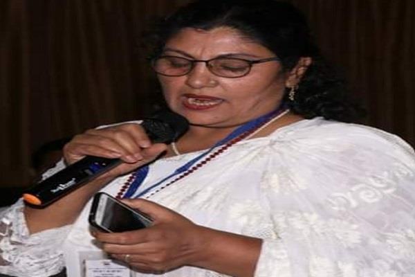 rashida khan attacks bjp leader using dirty terminology for collector
