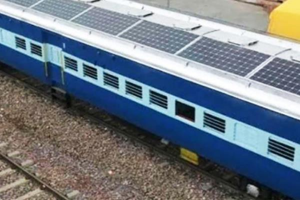 amritsar haridwar jan shatabdi will run through solar energy