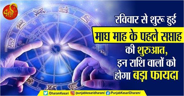 weekly horoscope 12 january to 18 january in hindi