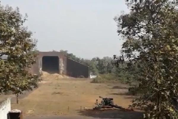 successful trial of sarang cannon in jabalpur