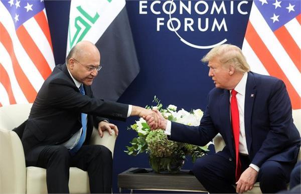 trump agrees us iraq security partnership