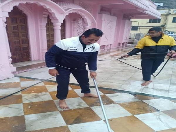 jwala ji temple spread dirt