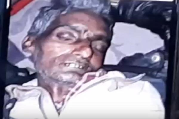 mainpuri the police revealed the ruthless killing of the battery trader