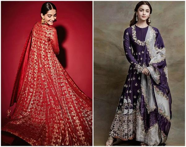 Evergreen Fashion! बॉलीवुड दीवाज की तरह ट्राई करें अनारकली सूट