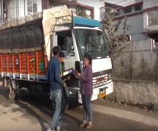 overloading and violation of traffic rules