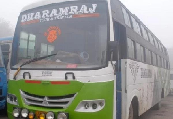 a bus full of passengers seized