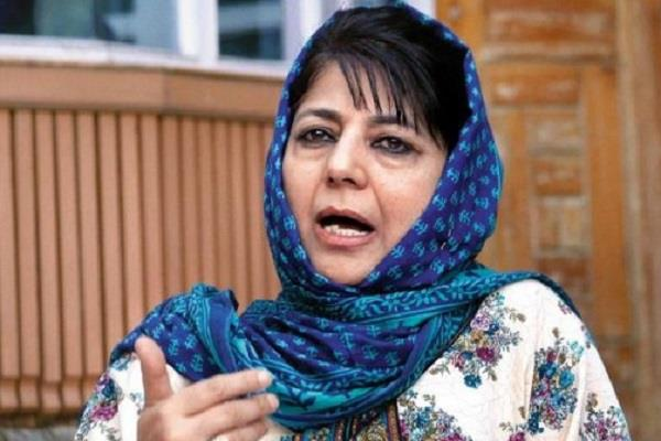 release political prisoners kashmir removing people situation normal mehbooba