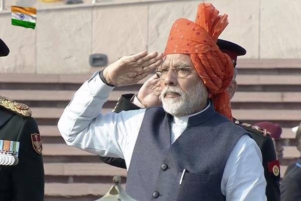 prime minister maintains saffron of saffron color maintains tradition