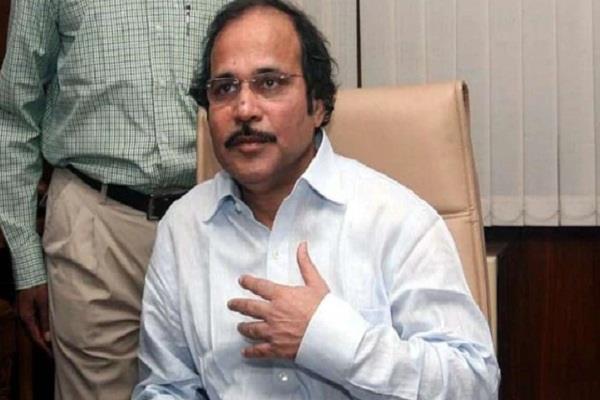 congress adhir ranjan choudhary narendra modi amit shah bjp