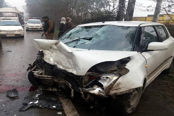 car driver including child killed in road accident 4 serious