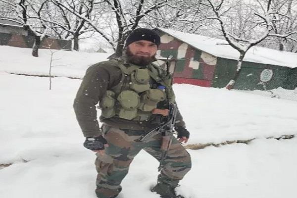 jabanj son of himachal will get army medal 2 terrorists were killed in kashmir